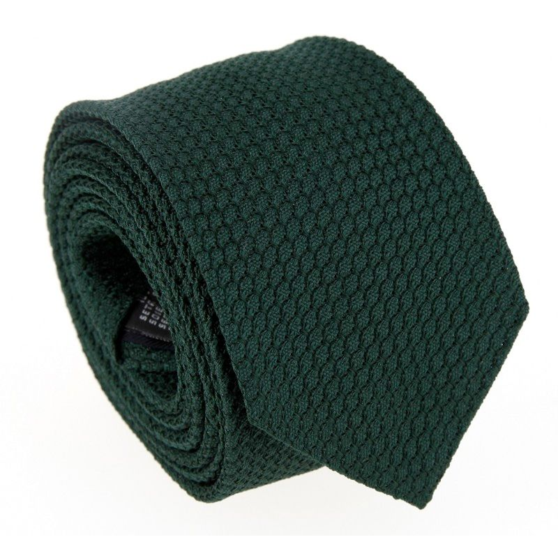 Grüne Krawatte aus Grenadinenseide The Nines - Grenadines III