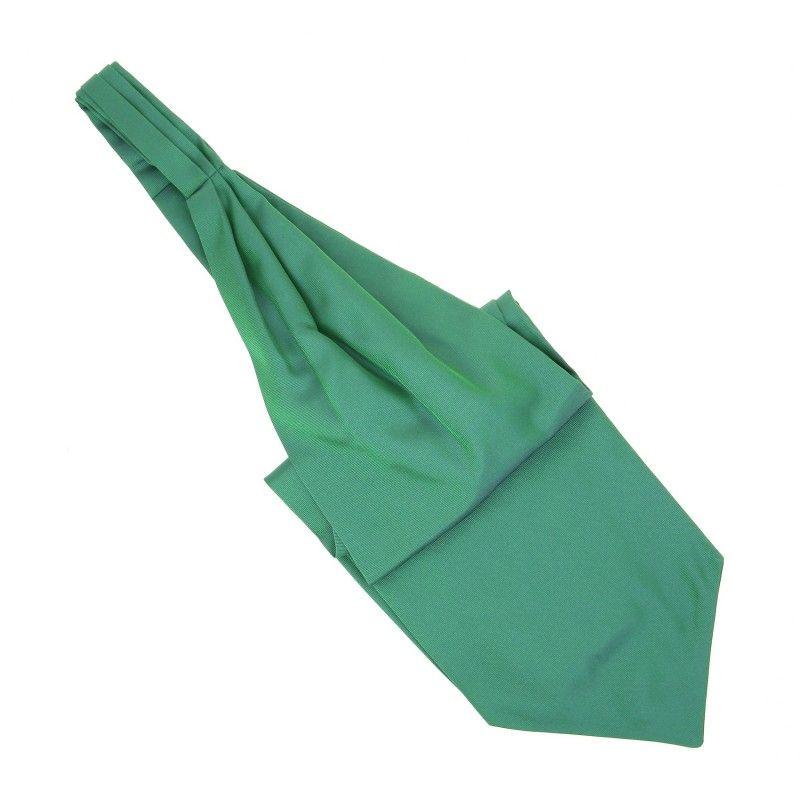 Mintgrüner Plastron (Ascotkrawatte) - Ascot II