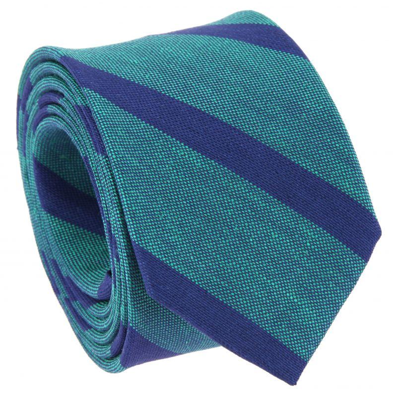 Virdiangrünem Krawatte mit Streifen - The Nines