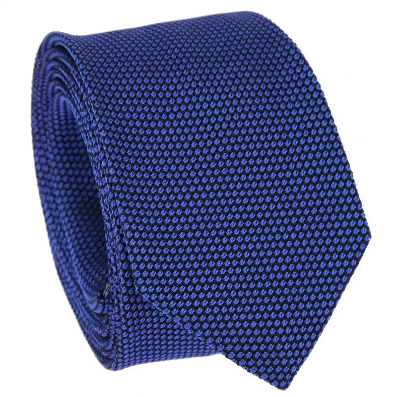 Grenadine Krawatte in navyblau und königsblau- Grenadines VI