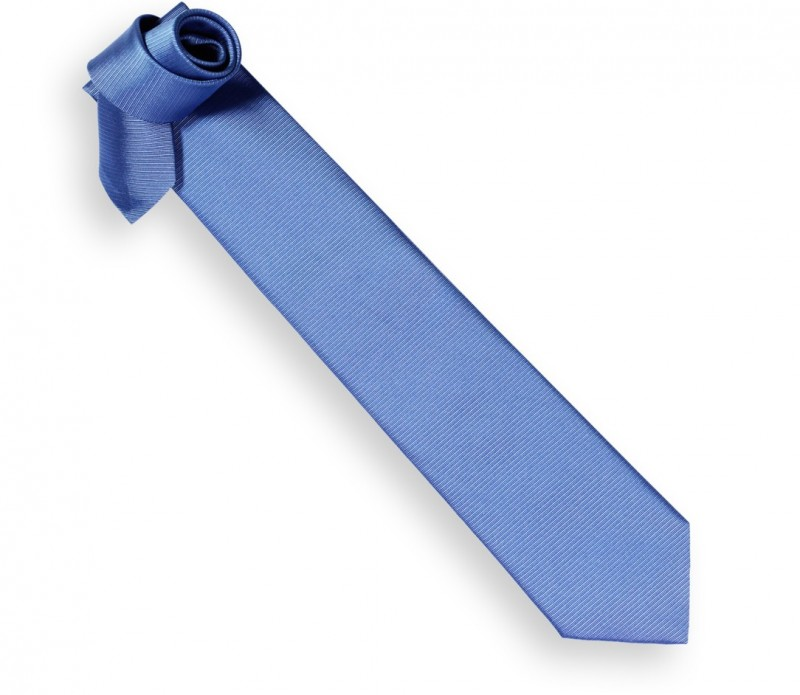 Hugo Boss Ozean Blaue Krawatte