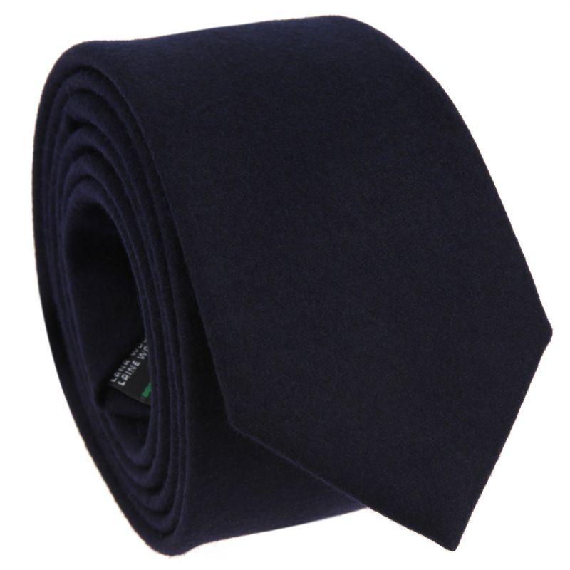 Navyblaue Krawatte aus Flanell The Nines