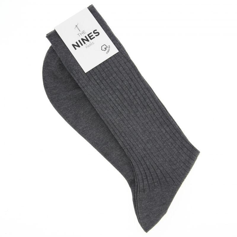 Graue Socken aus Bio Nil-Baumwolle