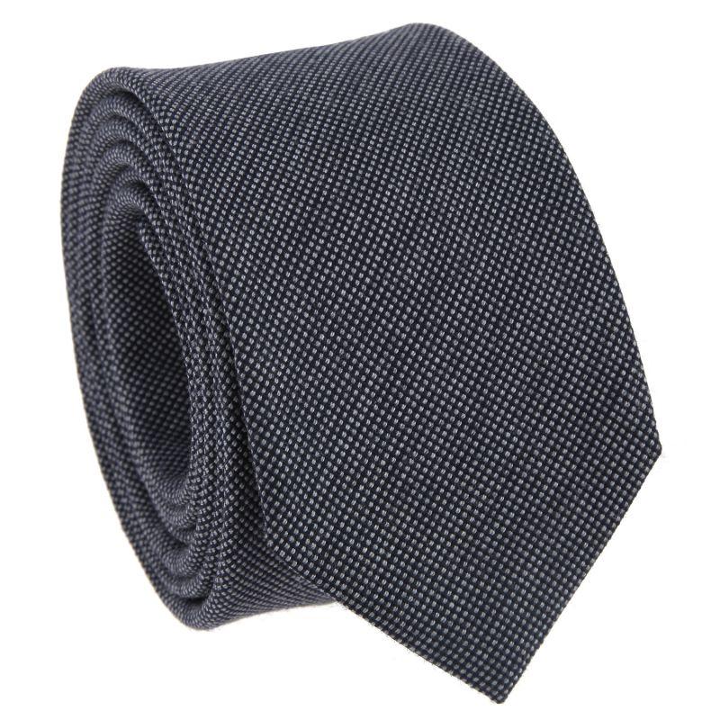 navyblaue krawatte wolle und seide krawatten. Black Bedroom Furniture Sets. Home Design Ideas