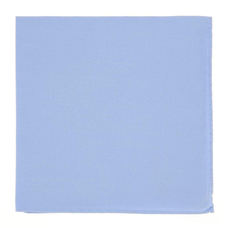 Hellblaues Einstecktuch aus Seide - Côme