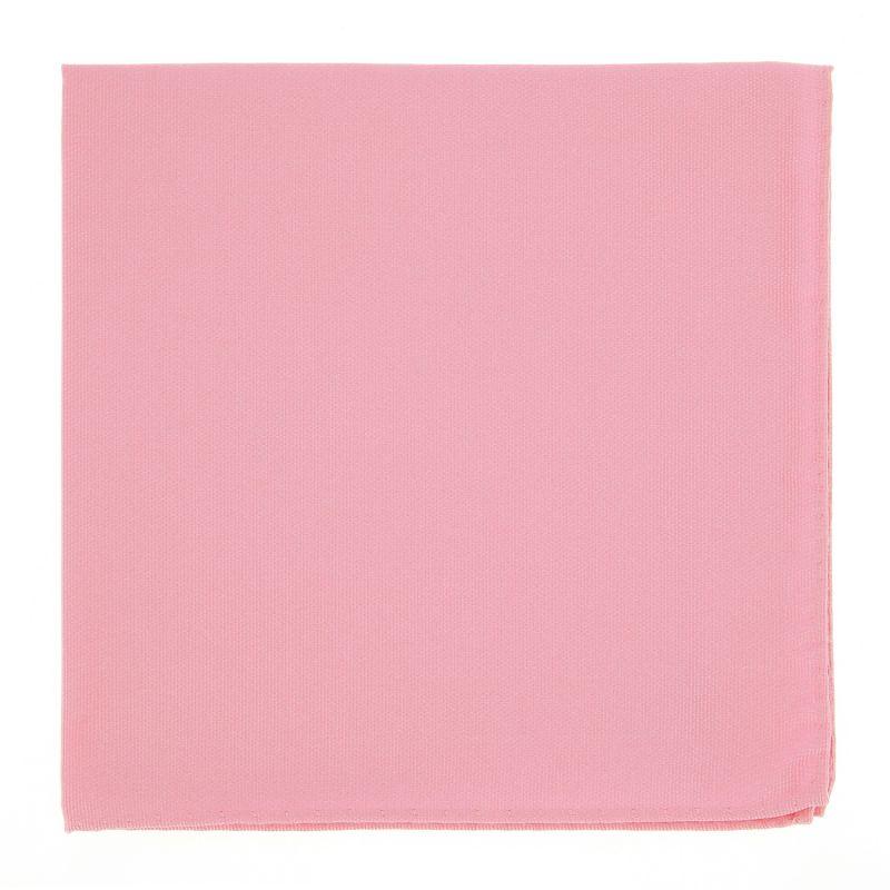 Pinkes Einstecktuch aus Seide - Côme
