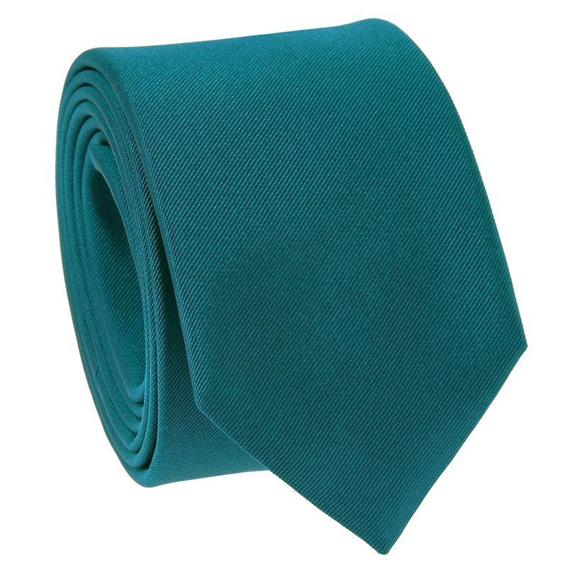Cravate Bleu Canard Come