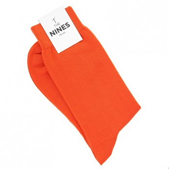 Baumwollsocken Orange