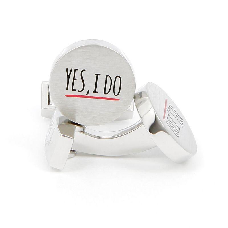 """""""Yes, I Do"""" Manschettenknöpfe"""