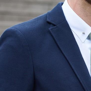 Die casual Jacke - marineblau
