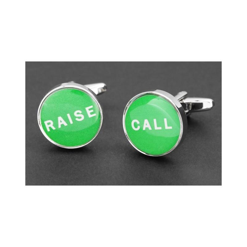 Call/Raise Manschettenknöpfe - Estoril