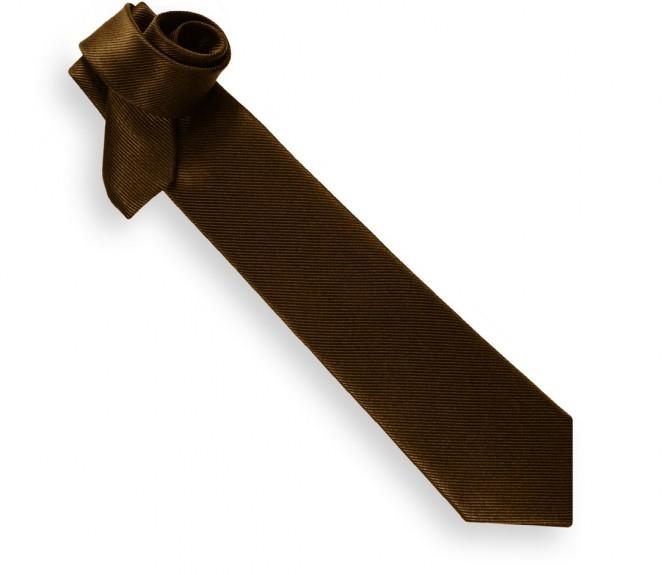 Cravate chocolat - Milan