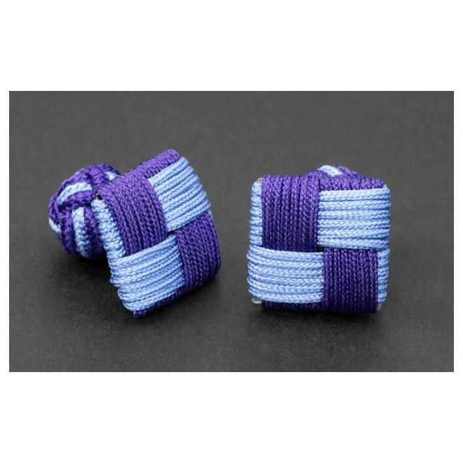 Manila Violett und Blau