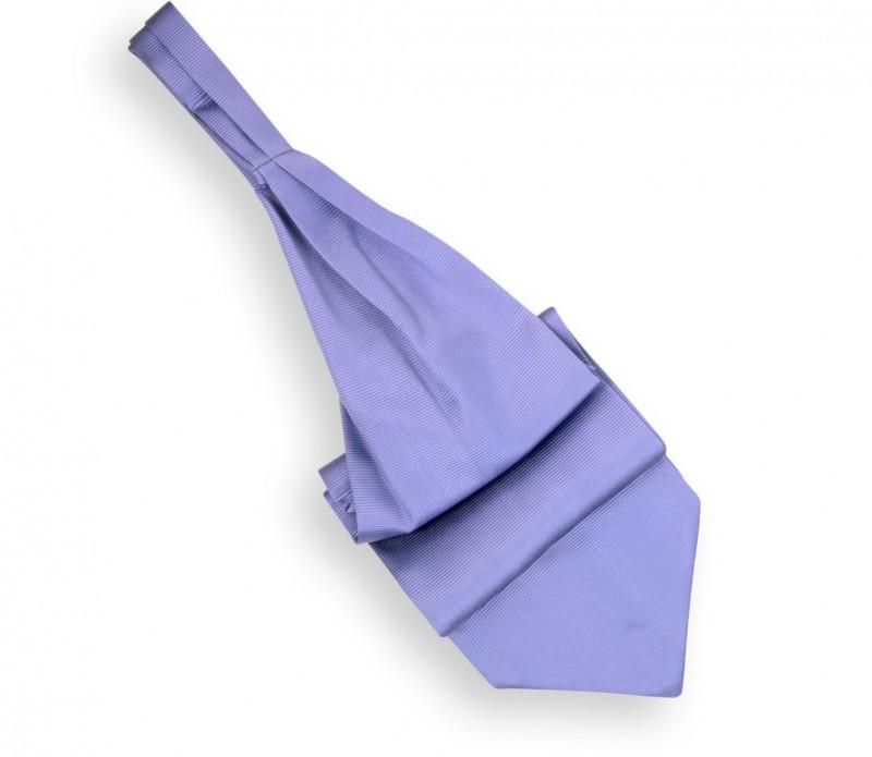 Lavendelblauer Plastron (Ascotkrawatte) - Ascot III