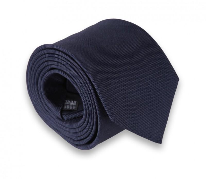 Marineblaue The Nines Geflochtene Seide Krawatte - Baltimore III