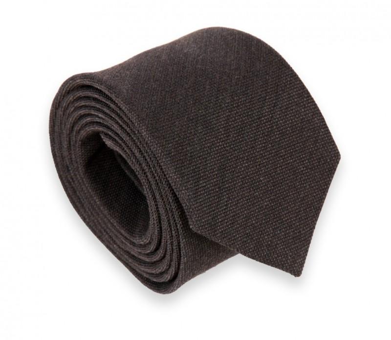 Dunkel Braune Woll- und Seiden Krawatte - Brisbane II