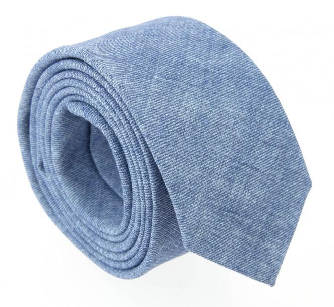 Blau Meliert Hugo Boss Slim-Krawatte