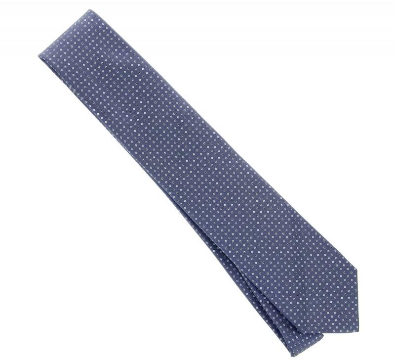 blaugrau hugo boss krawatte mit kariertemotiv das. Black Bedroom Furniture Sets. Home Design Ideas