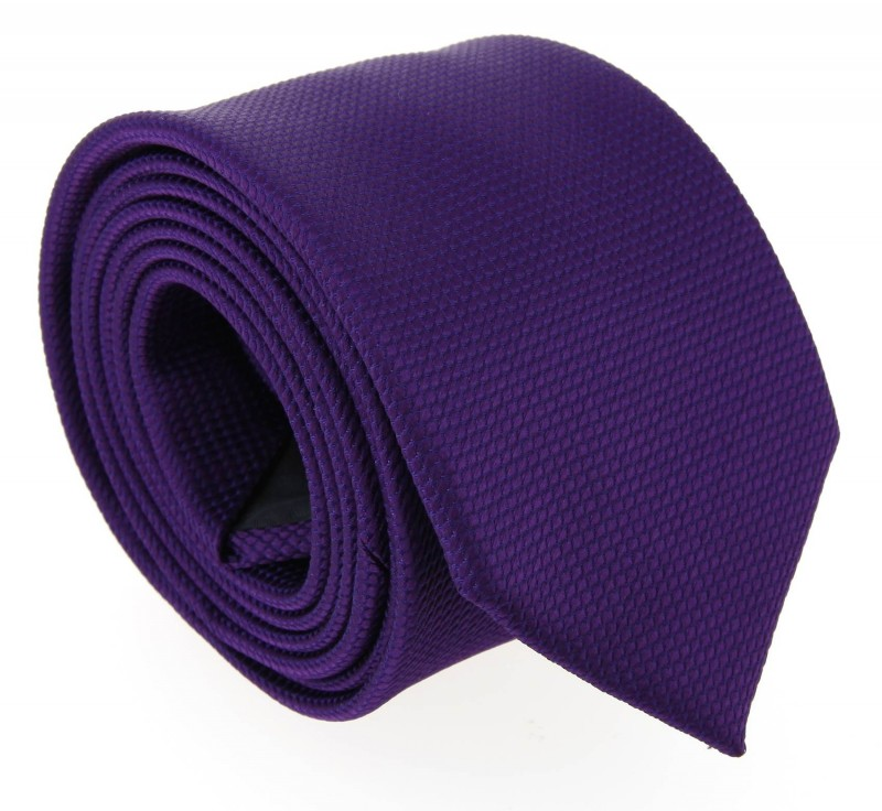 Violett Hugo Boss Krawatte