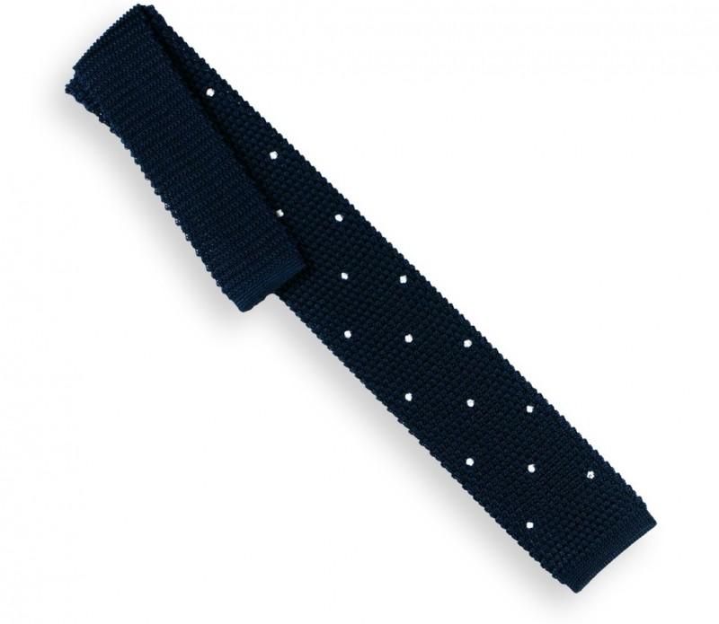 Cravate en tricot rouge - Monza