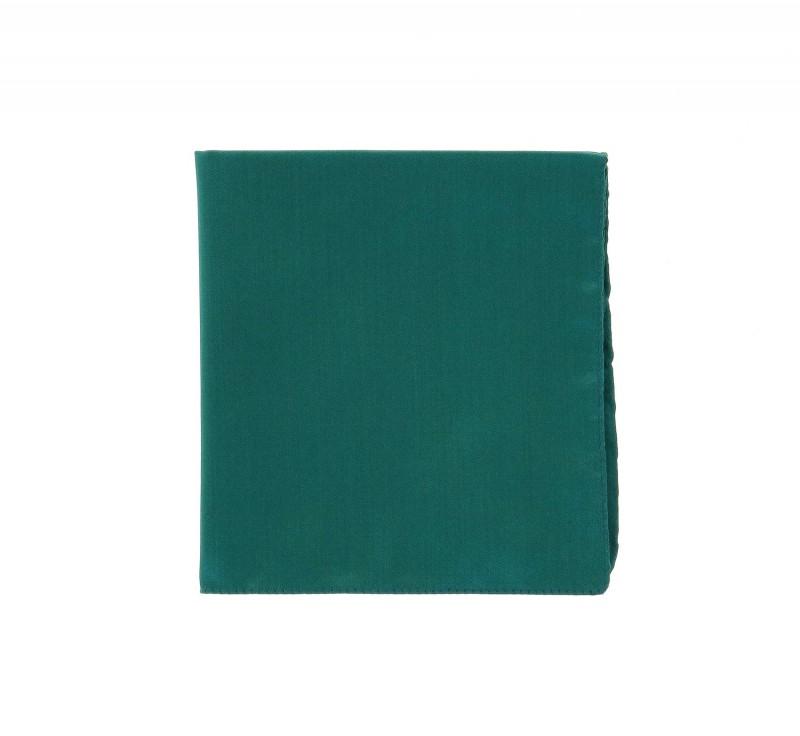 Smaragdgrünes Einstecktuch - Bellagio