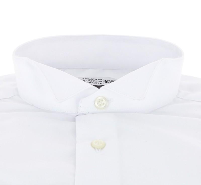 slim fit hemd mit umschlagmanschette mit klappkragen und. Black Bedroom Furniture Sets. Home Design Ideas