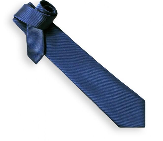 Cravate bleu acier - Milan