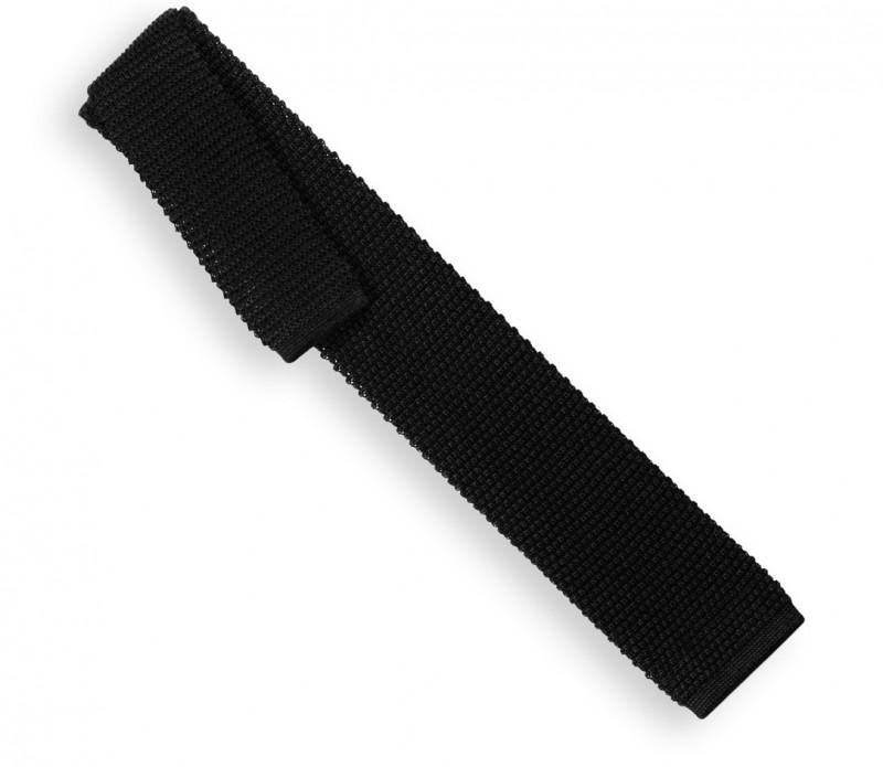 Cravate en tricot noire - Monza