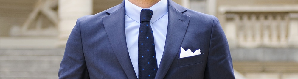 krawatte in hemd stecken